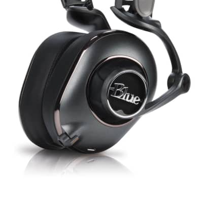 Blue 0359 Mix-Fi Powered High-Fidelity Headphones with Built-In Audiophile Amp