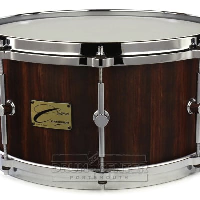 Canopus One Of A Kind Bubinga Snare Drum 14x7 Matte Natural