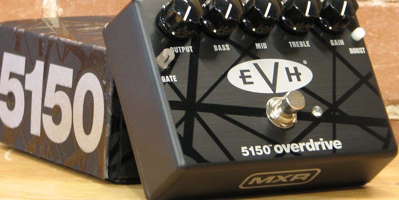 Mxr Evh 5150 Overdrive Eddie Van Halen Signature Pedal