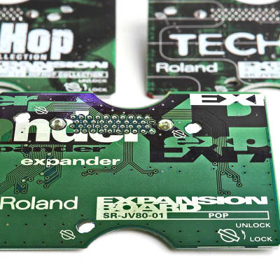 Roland Roland SR-JV80-01 Pop Expansion Board