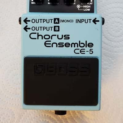 Boss CE-5 Chorus Ensemble (Blue or Pink Label)