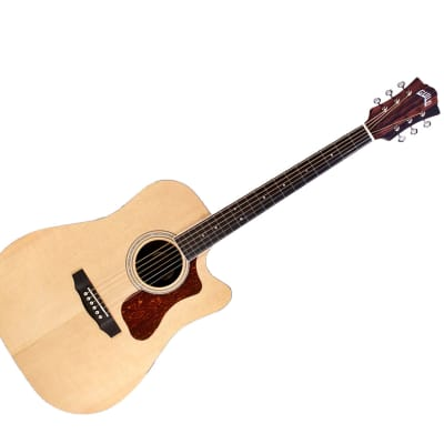 Guild Westerly Collection D-260CE Deluxe Sitka Spruce / Ebony Dreadnought with Cutaway