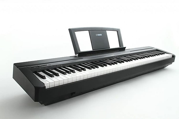yamaha p45b 88 key digital piano damm music reverb. Black Bedroom Furniture Sets. Home Design Ideas