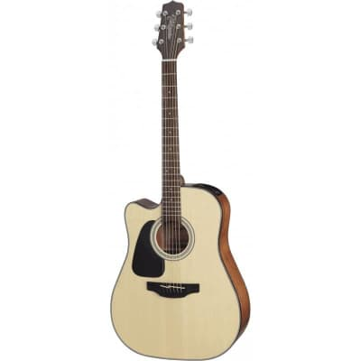 Takamine GD30CELH-NAT Acoustic-Electric Guitar Left-Handed Dreadnought Cutaway, Natural, GD30CELHNAT for sale