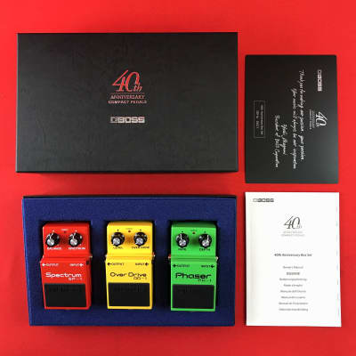 [USED] Boss BOX-40 Compact Pedal 40th Anniversary Box Set
