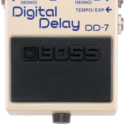 Boss DD-7 Digital Delay w/ Box & all Packaging White