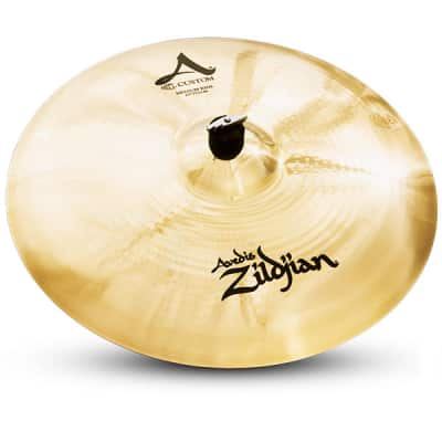"Zildjian 20"" A Custom Medium Ride Drumset Cymbal with Mid to High Pitch A20519 - Used"