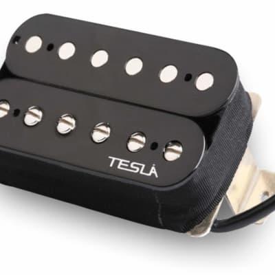 Tesla PLASMA-7 Humbucker Guitar Pickup - Bridge / Black