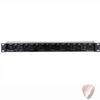 ART S8-3Way Eight Channel Three-Way Mic Splitter