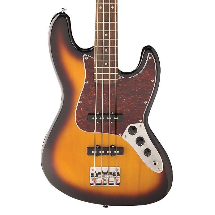 Jay Turser J-Style Electric Bass Tobacco Sunburst