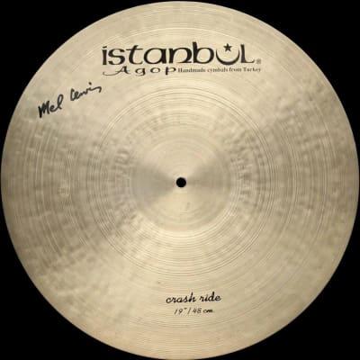 "Istanbul Agop Mel Lewis 19"" Crash Ride"
