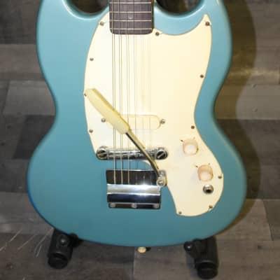 Kalamazoo SG KG-1A 1968 daphne blue for sale