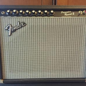"Fender Princeton Reverb II 2-Channel 22-Watt 1x12"" Guitar Combo 1981 - 1986"