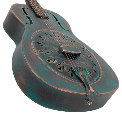 Recording King RM-997-VG | Swamp Dog Resonator Guitar, Limited Edition. New with Full Warramty!