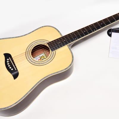 Oscar Schmidt OG1 3/4 Size Acoustic Guitar Natural Finish Professionally Setup! for sale