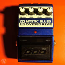 DOD FX102 Mystic Blues Overdrive 1980s Blue image