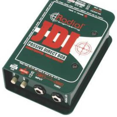 Radial Engineering JDI Passive Direct Box with Jensen Transformers