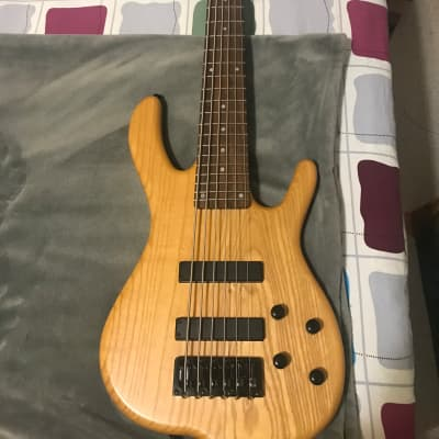 KSD 6 string bass   Natural wood for sale