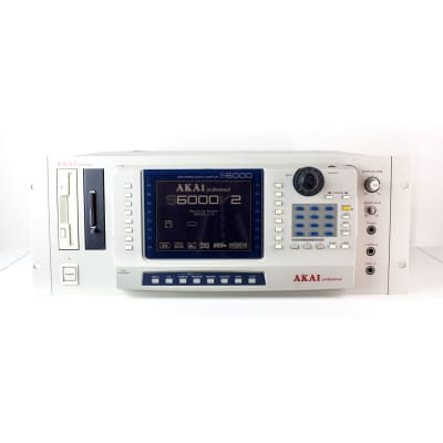 Akai S6000 MIDI Stereo Digital Sampler 1999