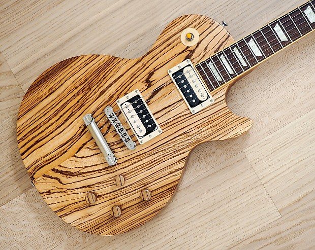 gibson guitar of the week 19 les paul classic antique zebra reverb