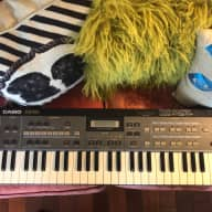 Casio CZ-101 Synthesizer 1980s Black