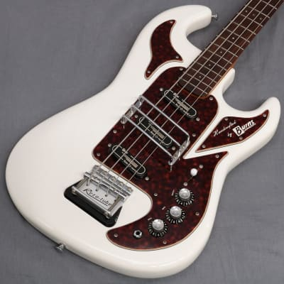 Burns London Limited Legend Shadows Bass White - Shipping Included* for sale