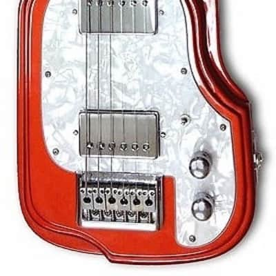 Morrell Custom Series 6-String Maple Body Lap Steel Guitar Metallic Rust Finish USA for sale