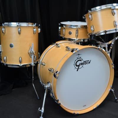 """Gretsch 20/12/14/5.5x14"""" Brooklyn Drum Set - Maple Satin"""