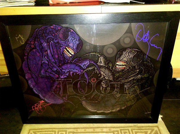 Memorabilia Signed Posters Tool And MJK+Alex Grey 2000's Can Be Shipped In  Tube Or Framed