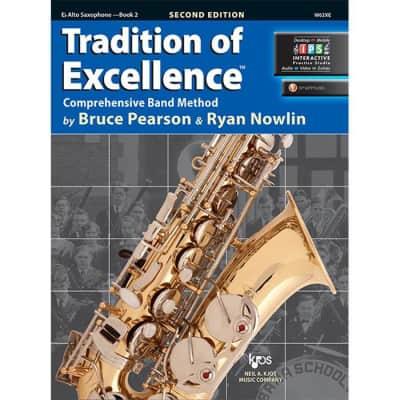 Tradition Of Excellence - Alto Sax Book 2