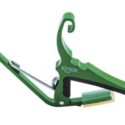 Kyser 6-string Capo, Emerald Green