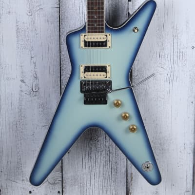 Dean ML 79 Electric Guitar Floyd Rose DMT Design HH Blue Burst Finish ML 79 F BB for sale