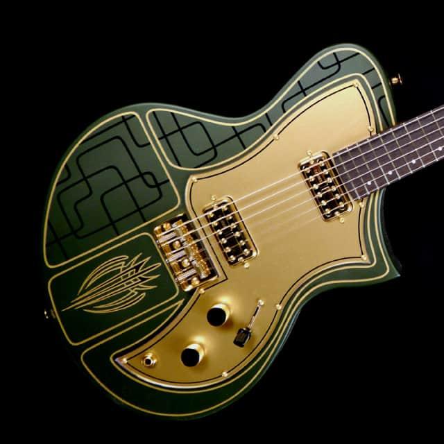 Titan KR1 Custom - Caddy Green (Pin Stripe) image