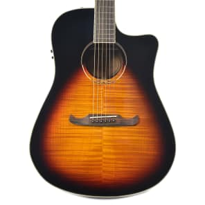 Fender T-Bucket 300CE V3 Flamed Maple Cutaway Dreadnought w/ Electronics Flame Maple