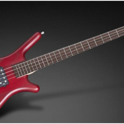 Warwick Pro Series RB Corvette Red Satin with Bag 2010s Burgundy Red