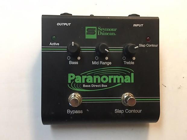 Seymour Duncan SFX-06 Paranormal Bass Active DI Direct Box | Reverb