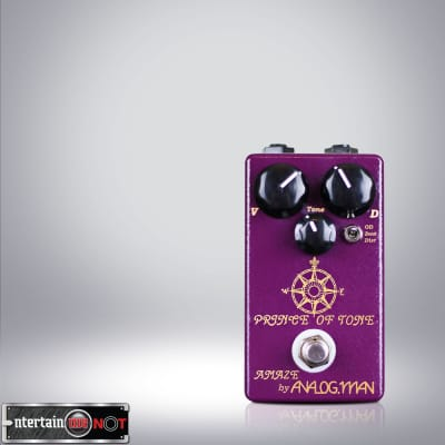 Analogman Prince of Tone Overdrive Pedal + 100% Guarantee + Quick Shipping for sale
