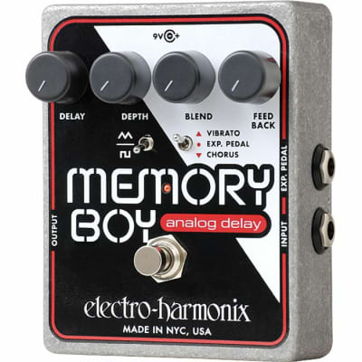 Electro Harmonix Memory Boy Analog Delay With Chorus Vibrato Pedal for sale