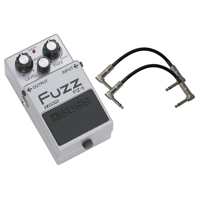 boss fz 5 fuzz guitar effect pedal bundle geartree reverb. Black Bedroom Furniture Sets. Home Design Ideas