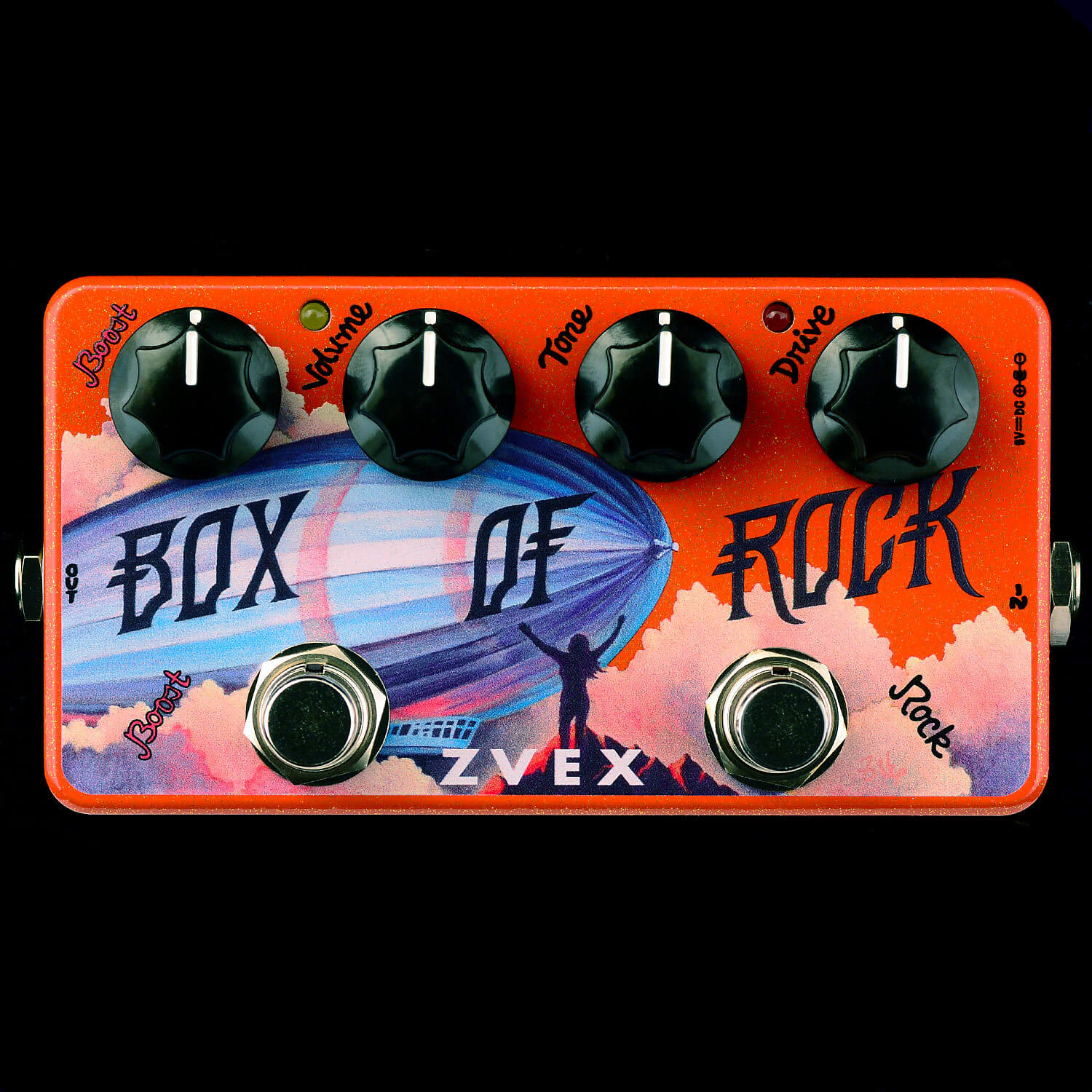 ZVEX Box of Rock Vexter Series Overdrive / Distortion Effects Pedal