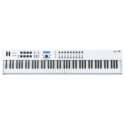 Arturia KeyLab Essential 88 MIDI Keyboard Controller, White