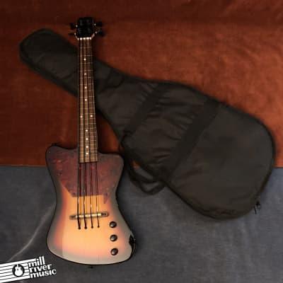 Savannah STB-700F Lightning Bass Fretless Sunburst w/ Gig Bag for sale