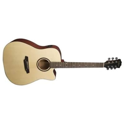Carlo Robelli G600CE Dreadnought Acoustic-Electric Guitar Package for sale