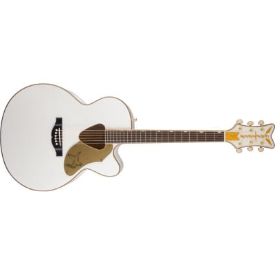 Gretsch G5022CWFE Rancher Falcon Jumbo (White) for sale