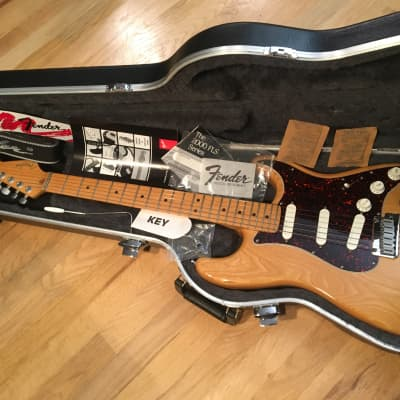 Fender Strat Plus with Maple Fretboard Natural for sale