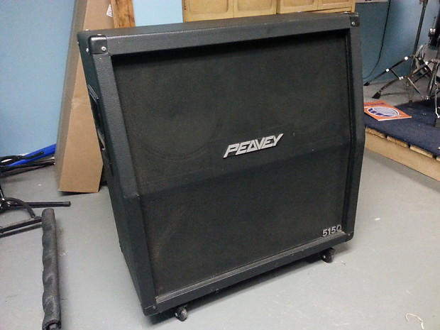 peavey 5150 4x12 cab cabinet 1990s black reverb. Black Bedroom Furniture Sets. Home Design Ideas