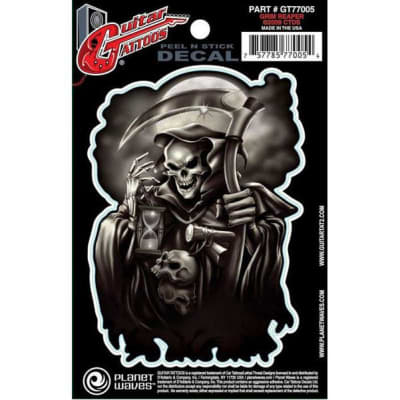 Planet Waves GT77005 Guitar Tattoo - Grim Reaper