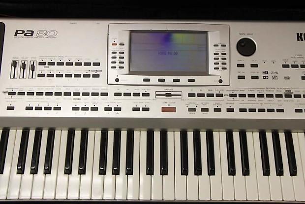 KORG PA80 MIDI WINDOWS 7 DRIVERS DOWNLOAD