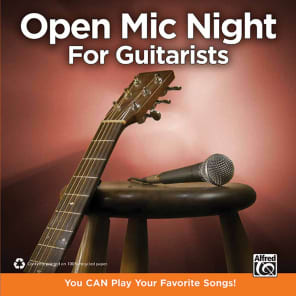 Alfred 00-37455 The Complete Idiot's Guide To Open Mic Night - For Guitarists