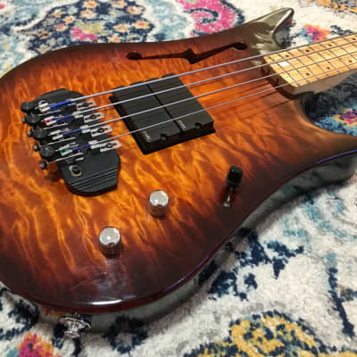 1996 PBC AB-400 Dave Bunker - Acoustic Electric Bass - USA for sale